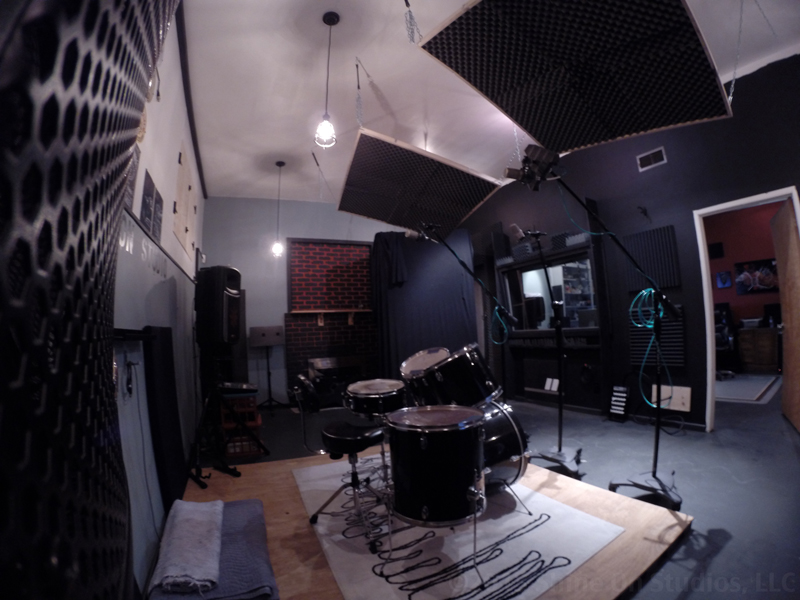 Live Room • View into Control Room