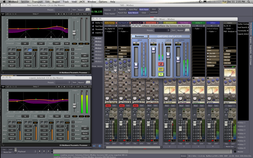 Editing audio for film with Harrison MixBus