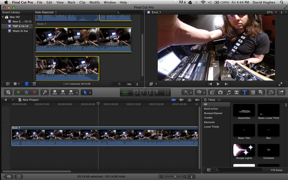 Final Cut Pro X Video Production