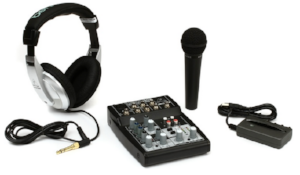 Behringer Podcast Studio Package