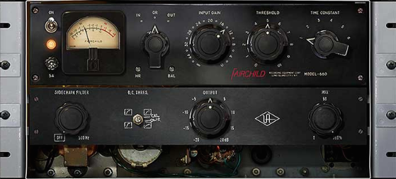 UAD Fairchild Compressor