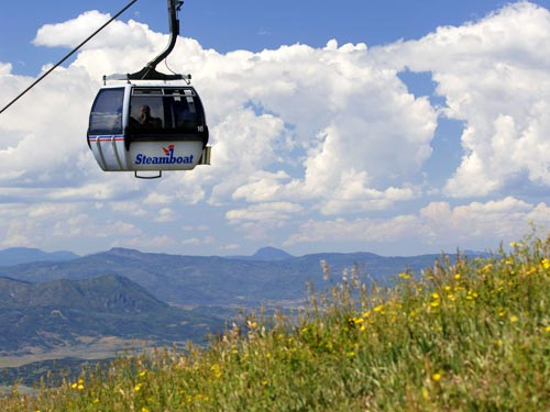Steamboat Gondola Rides | Mountain Biking ann Hiking| Things to do in Steamboat Springs, Colorado