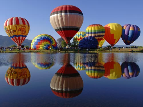 Hot Air Balloons | Scenic Tours| Things to do in Steamboat Springs, Colorado