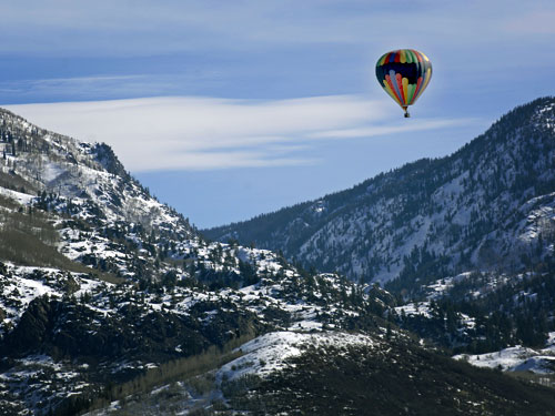 Hot Air Balloon Tours | Scenic Tours |Things to do in Steamboat Springs, Colorado