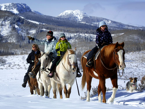 Horseback Riding| Things to do in Steamboat Springs, Colorado