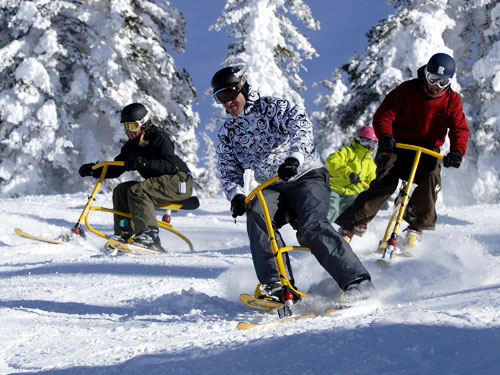 Snowbikes| Things to do in Steamboat Springs, Colorado