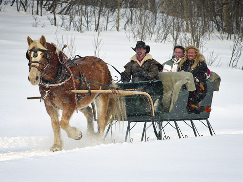 Sleigh Rides | Romantic Getaway| Things to do in Steamboat Springs, Colorado