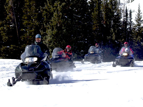 Snowmobiling | Rabbit Ears and Zirkel Wilderness| Things to do in Steamboat Springs, Colorado