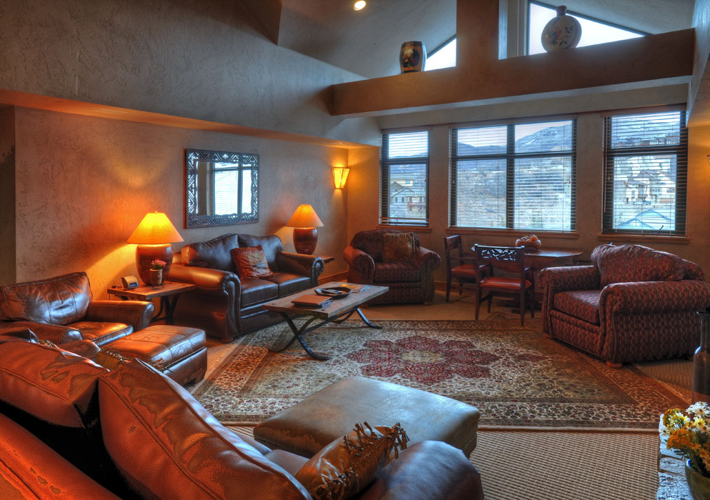 Penthouse - Living Room | Lodging in Steamboat Springs, Colorado