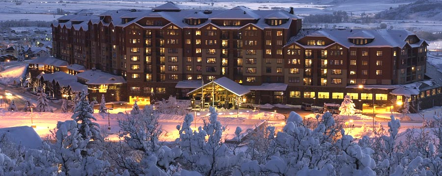 Steamboat Grand in the Winter