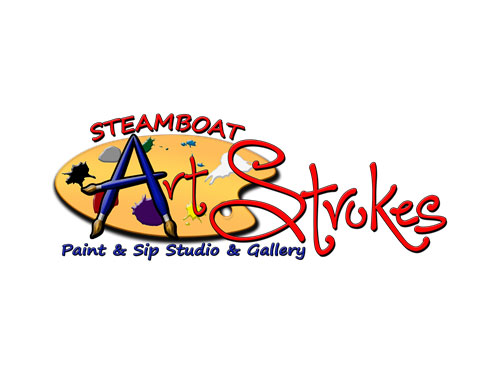 Steamboat Art Strokes