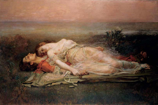 Tristan & Isolde by Rogelio de Egusquiza