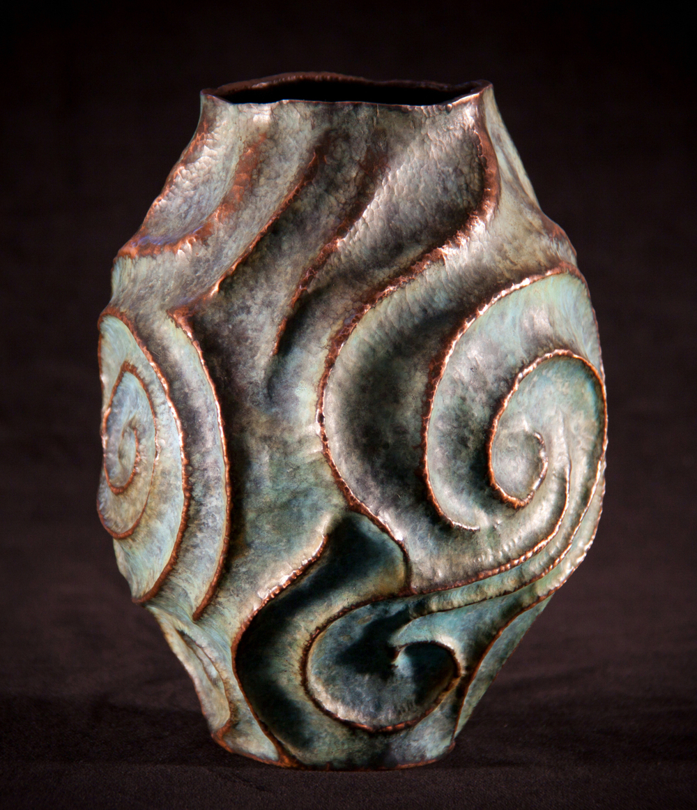 "Copper Vessel, ""From the Depths"""