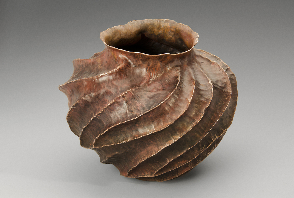 "Copper Vessel, ""From the Heart"""