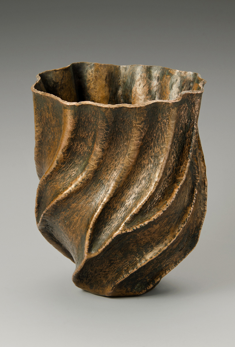 "Copper Vessel, ""Towering Trees"""