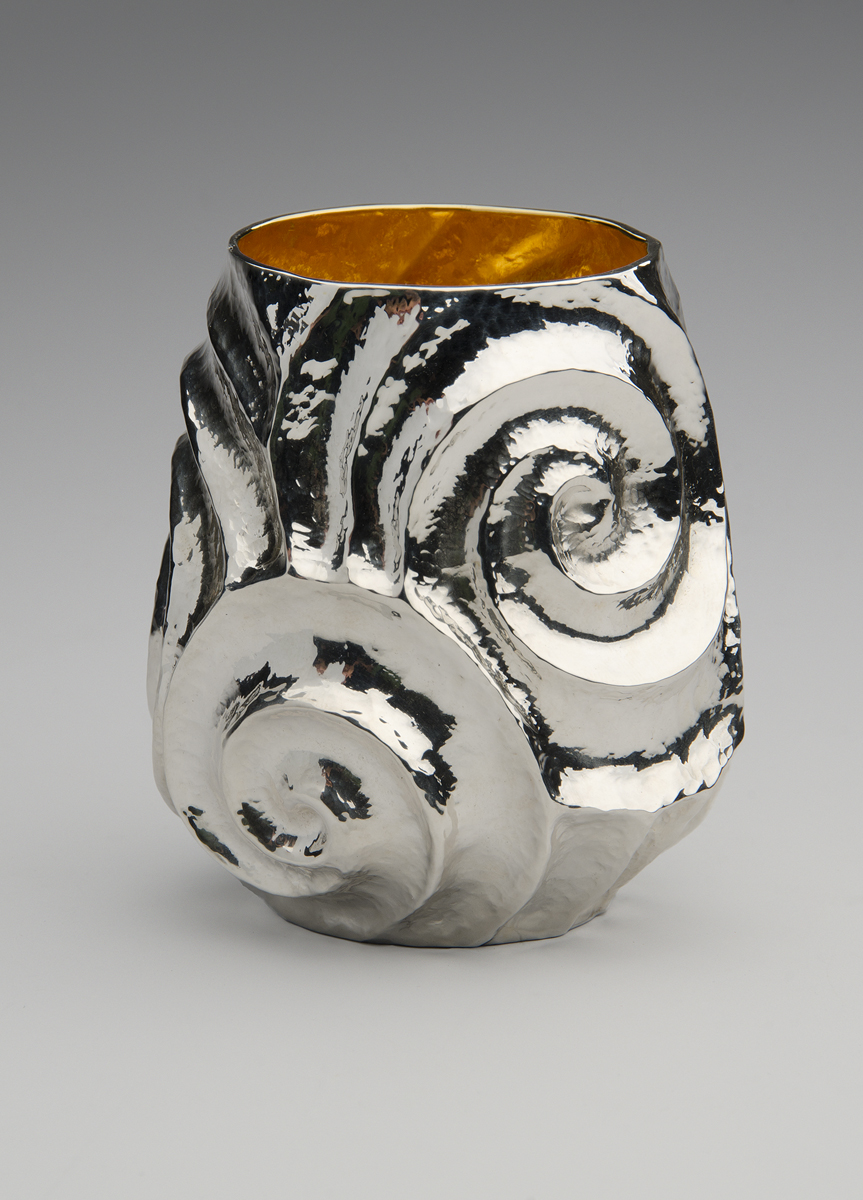 "Raised Silver Cup, ""Of New Grange IV"""