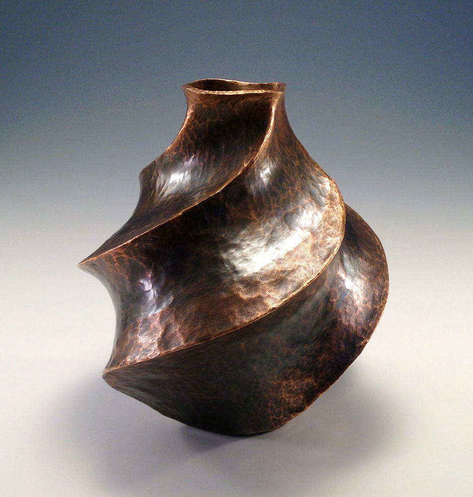 "Copper Vessel, ""The Dancing Bottle"""