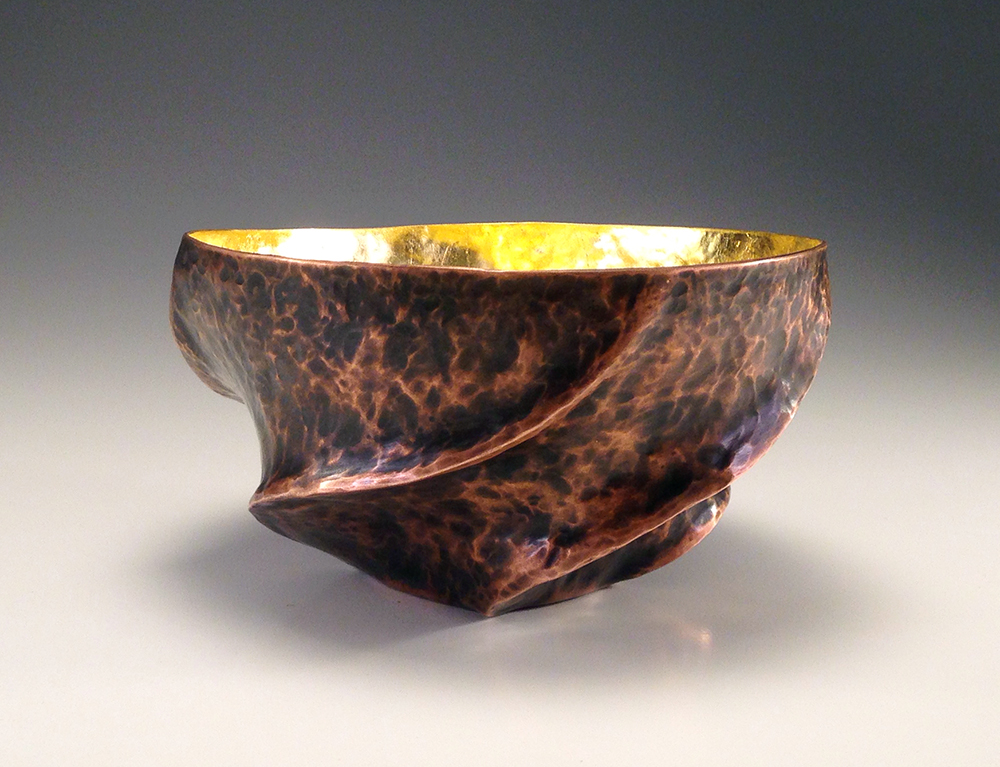 "Copper Vessel, ""The Dancing Bowl II"""