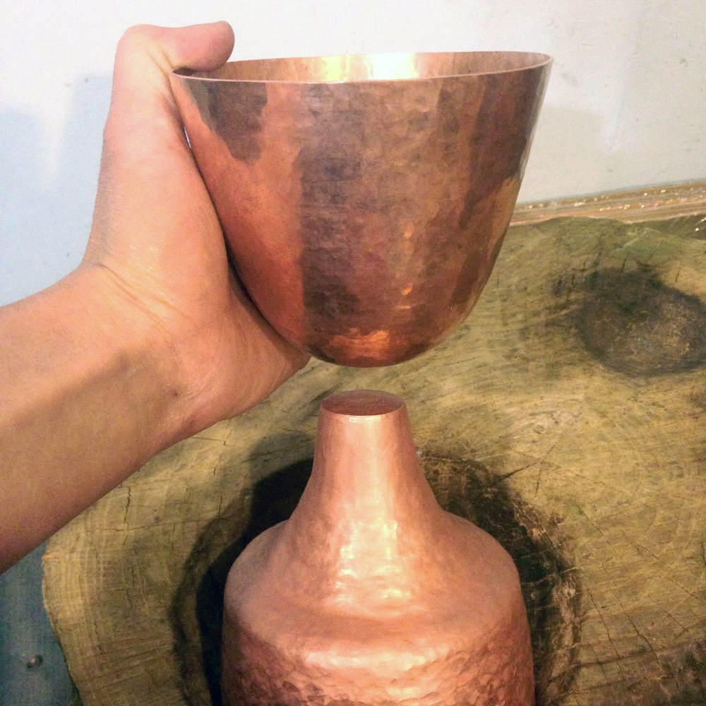 Chalice Bowl and Base 5