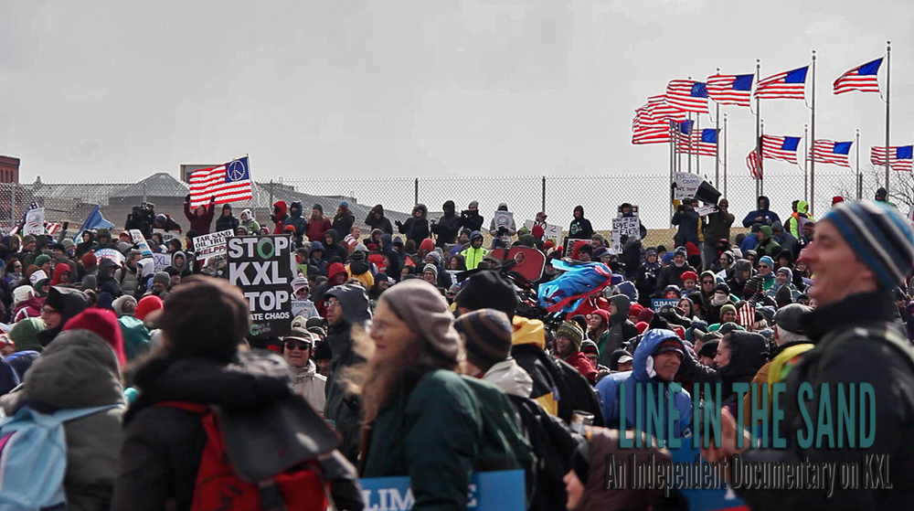 Climate Rally against the Keystone XL Pipeline, Washington D.C. Feb. 2nd, 2013.