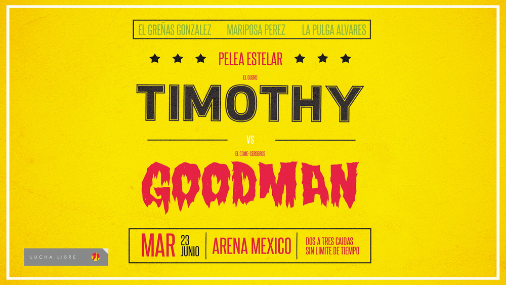 OFFF MX title card for Timothy Goodman.