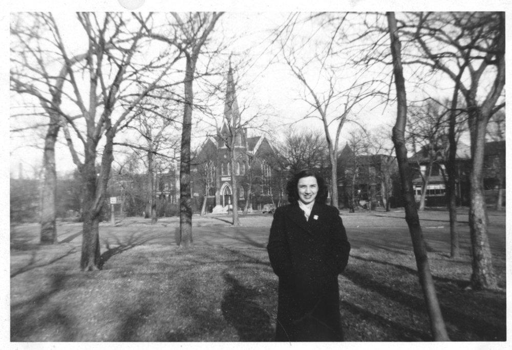 Circa 1951, Humboldt Blvd.