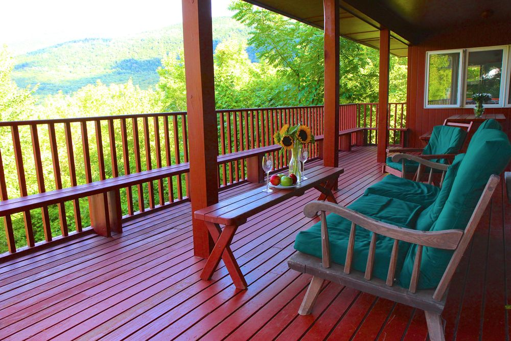 Copy of Green Mountain House Porch