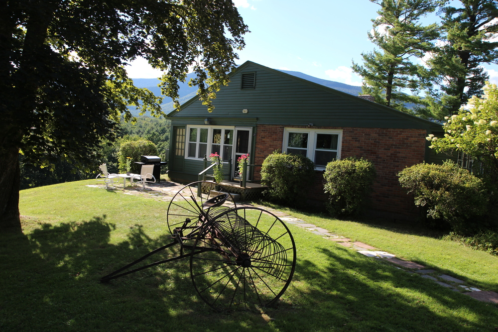 Summer View of the Innkeepers' Cottage