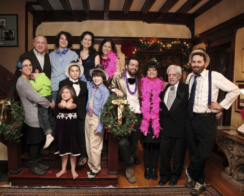 Three Generations of Levis Family  Innkeepers Celebrate New Years 2014