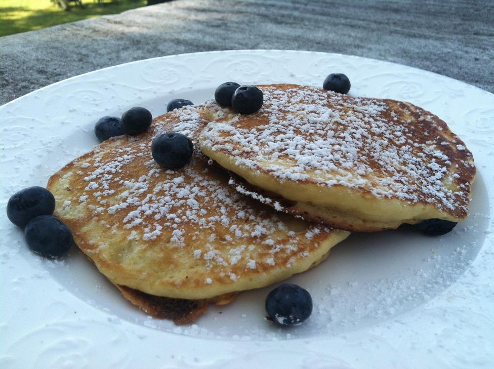 Wilburton Blueberry Pancakes.