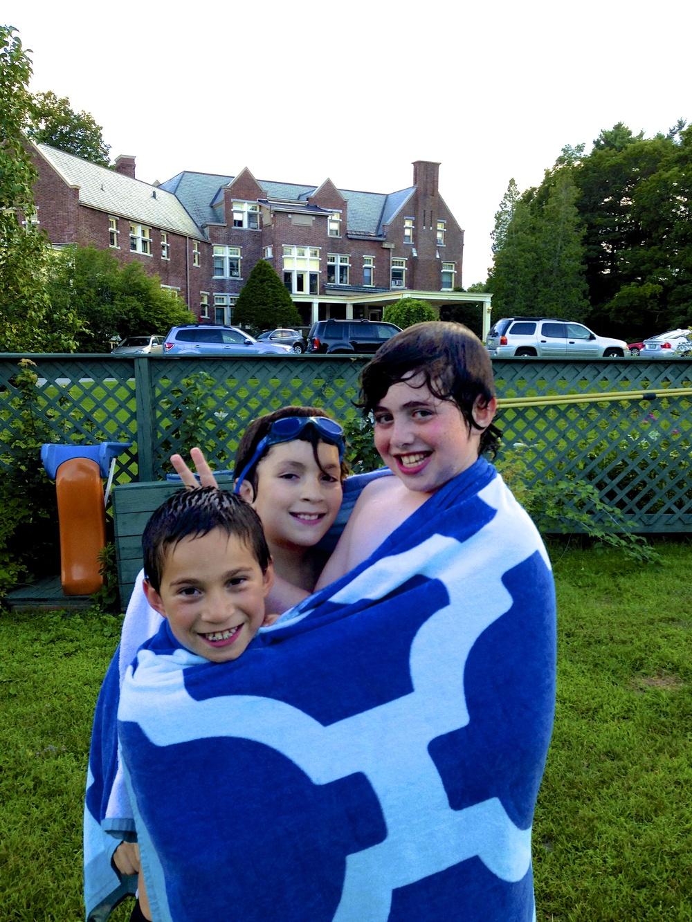 Family Fun in the Pool