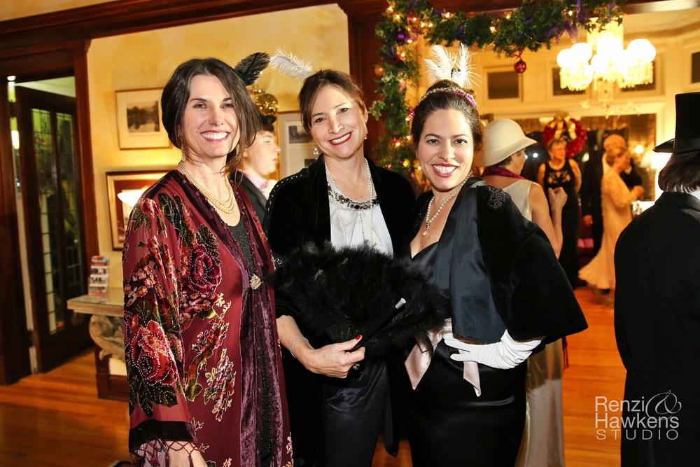 Melissa Pam and Kim Downton Abbey.jpg
