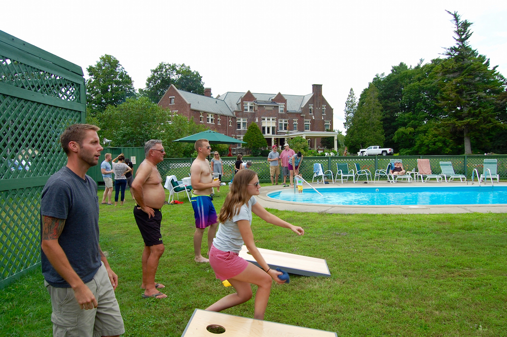 lawn games at wilburton inn
