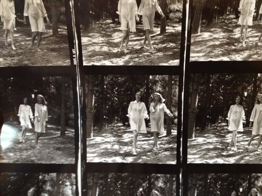 grandma's contact sheet from 1972 #jeannetteleroy