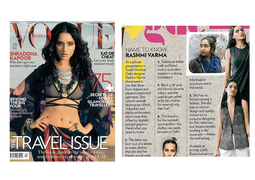 Vogue India, April 2014