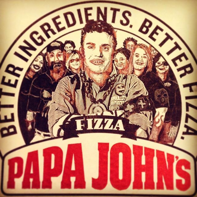 The only papa I've known #bastard #jkmom #papajohns