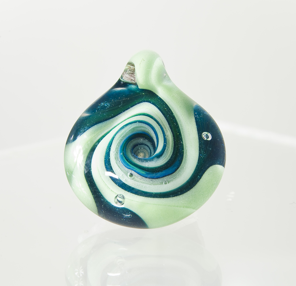 Mint and Unobtanium Spiral made in 2011.  Sold.