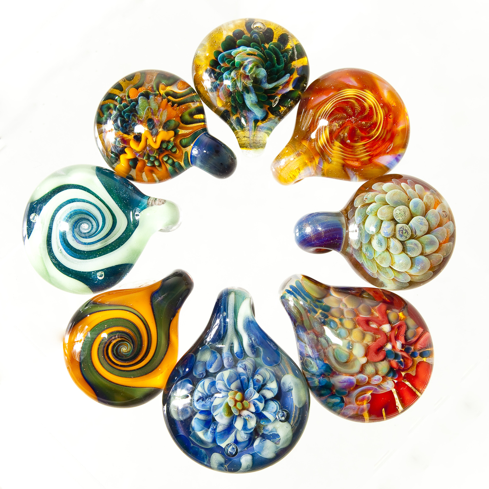 Pendants made in 2011.