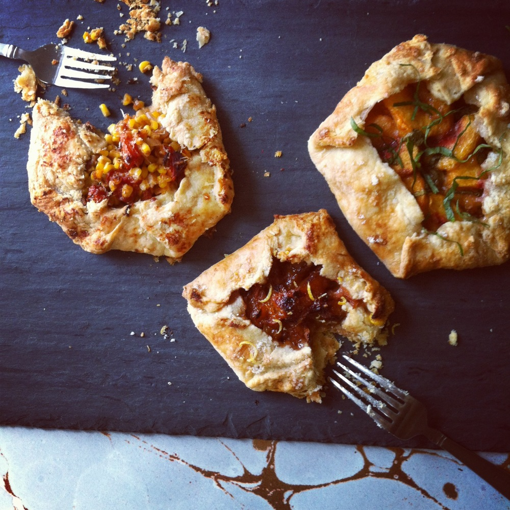 Sweet and savory hand pies