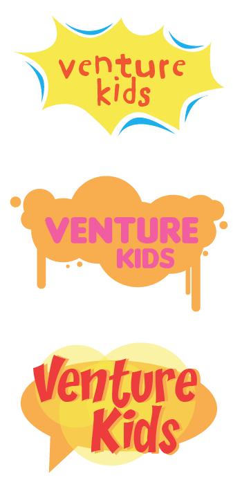 identity concept. Venture Kids ministry   Graham, TX