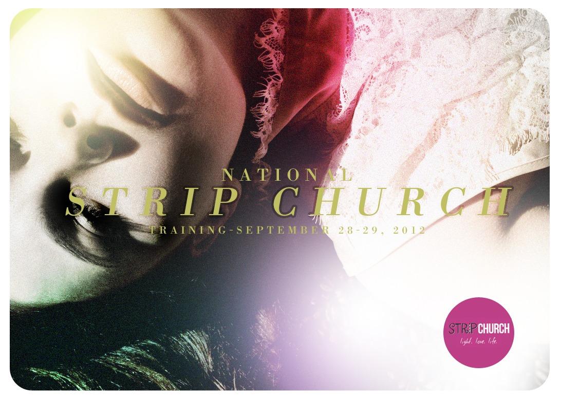 promotional design. Stripchurch.org