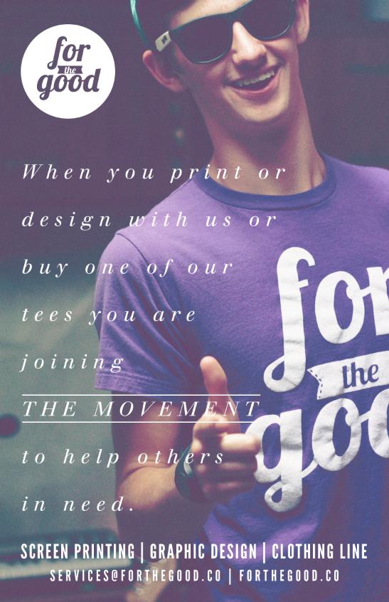 advertisement design | forthegood.co