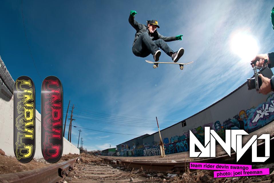 advertisement | UNRVLD Skateboard Company | Albuquerque, NM