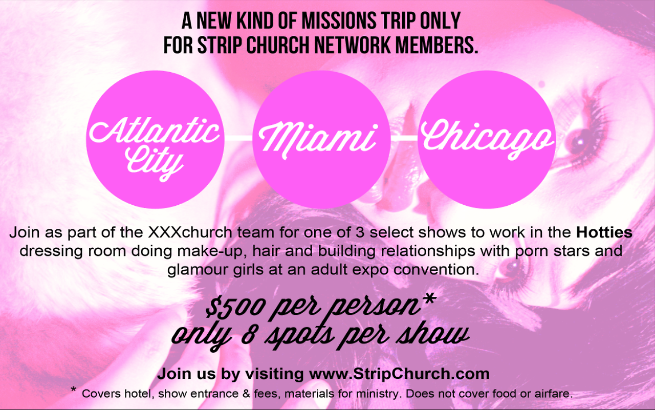 promotional flyer | Stripchurch.com