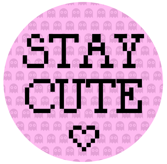 tee concept. Stay Cute <3