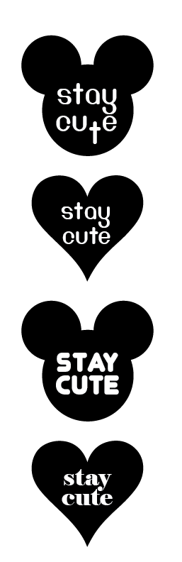 identity concept. Stay Cute clothing line | Albuquerque, NM