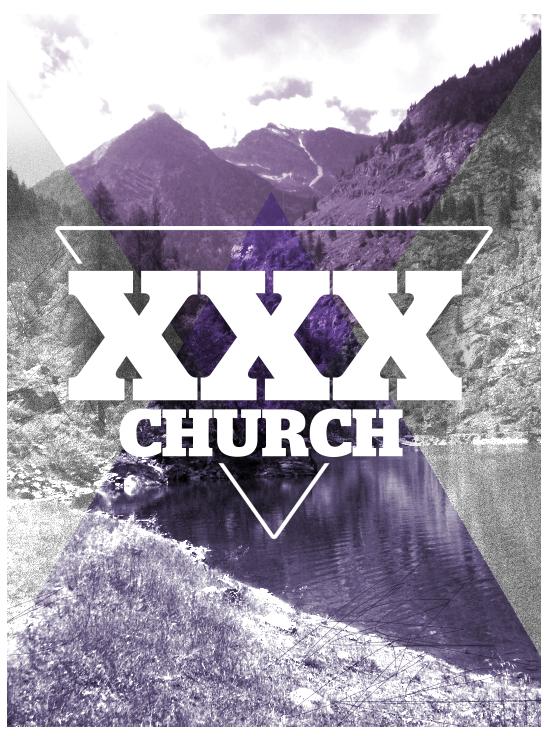 tee concept. XXXchurch.com