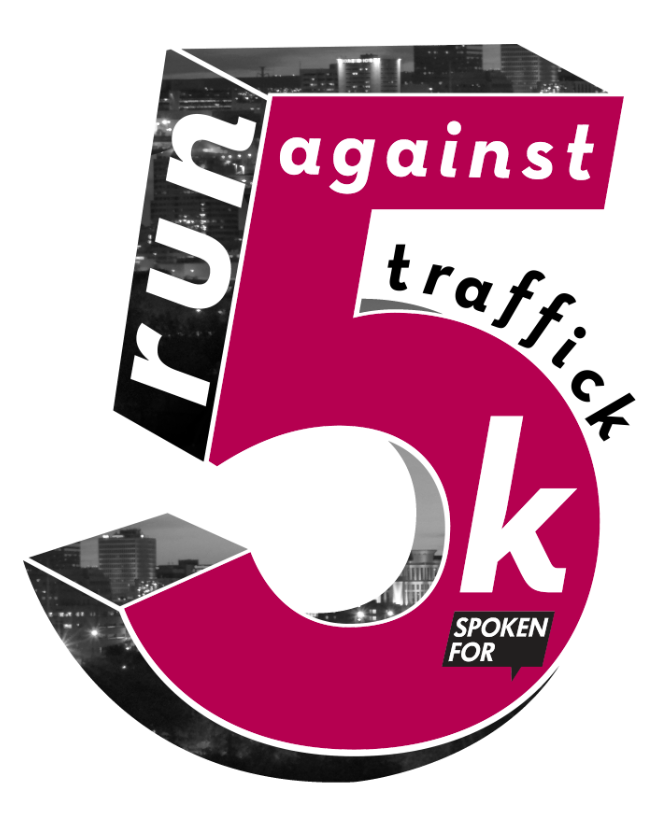 Identity concept for 5k Race Against Sex Trafficking.