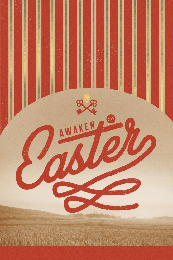 Easter Promotional artwork | Awaken Church | Clarksville, TN