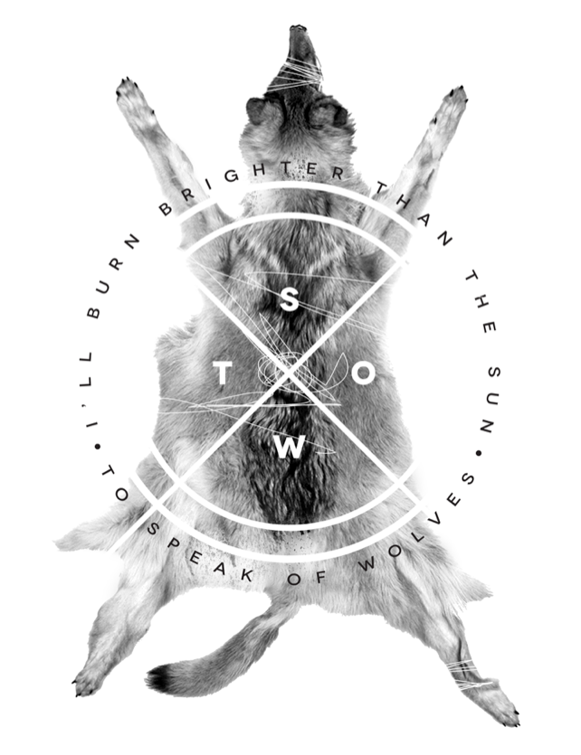apparel design | To Speak of Wolves | Circa 2012